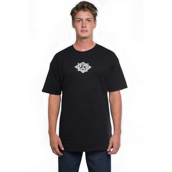 T-Shirt Oversize | THE BIGGER HOMIE TEE | HOMEBOY-Black