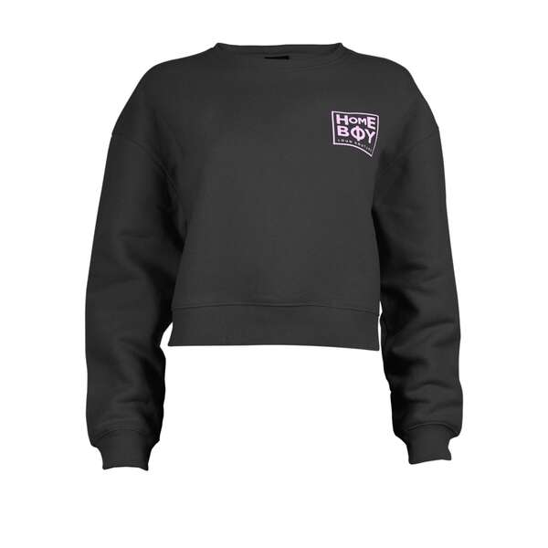 Pullover / Sweatshirt Cropped | HAILY Sweat Crew Neck |...