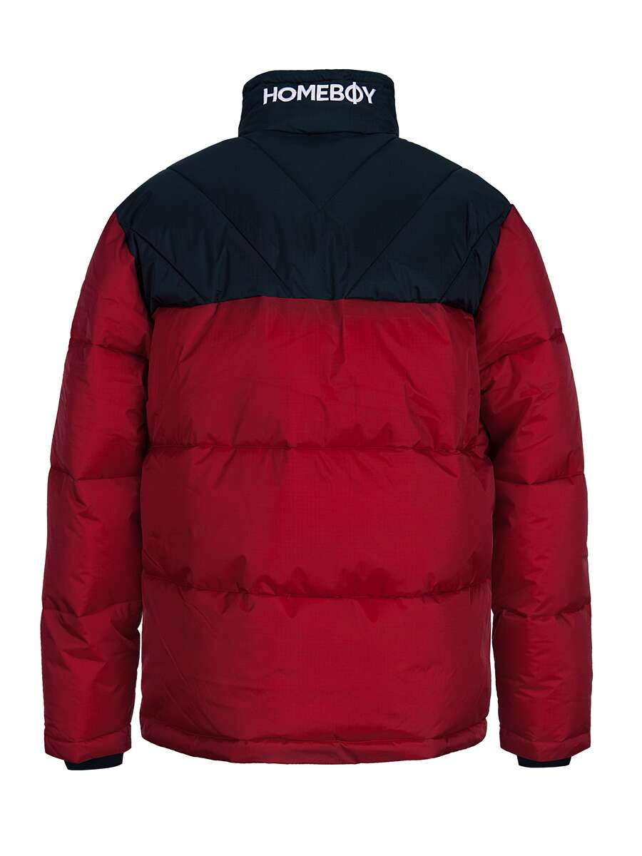 Jacke | SADDLE ARK JACKET - Red - M | HOMEBOY