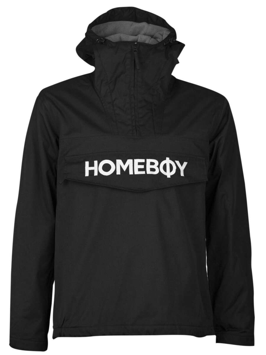 Jacke | ESKIMO BROTHER JACKET - Black - L | HOMEBOY
