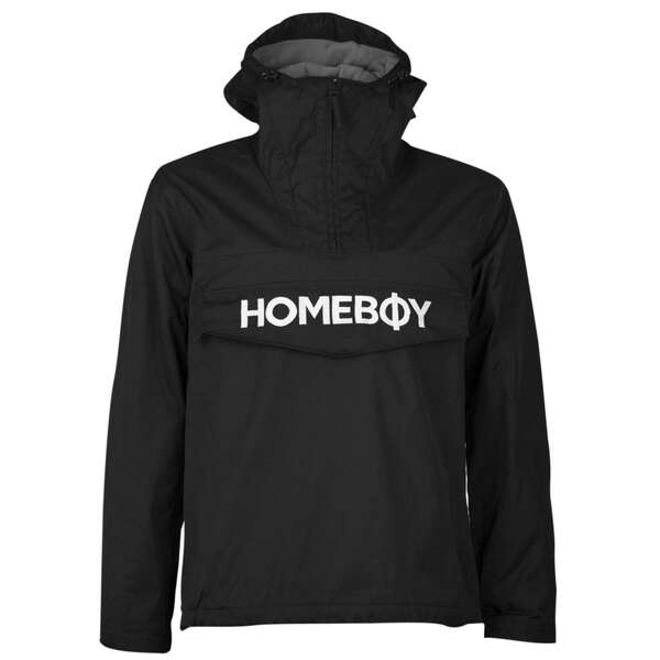 Jacke | ESKIMO BROTHER JACKET - Black - XL | HOMEBOY