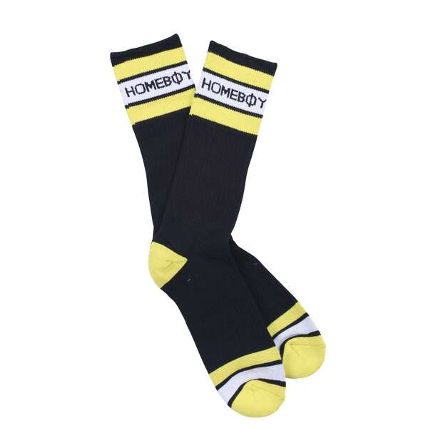 Socken | 2er Pack STRIPE Sock - Black - 43-46 | HOMEBOY