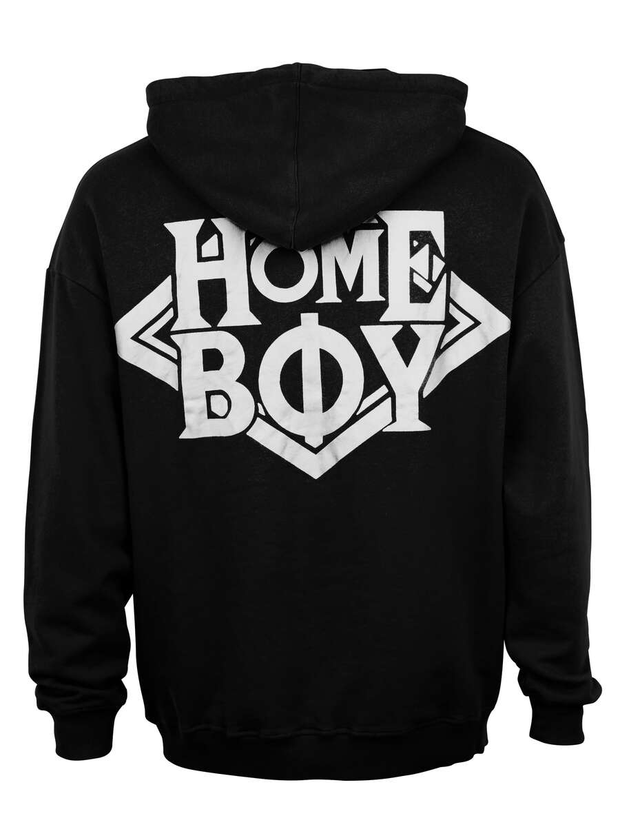 Pullover / Sweatshirt Oversize | THE BIGGER HOMIE HOOD BLACK | XXL | HOMEBOY