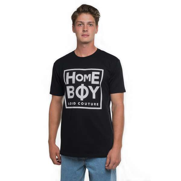 T-Shirt | TAKE YOU HOME TEE BLACK | L | HOMEBOY