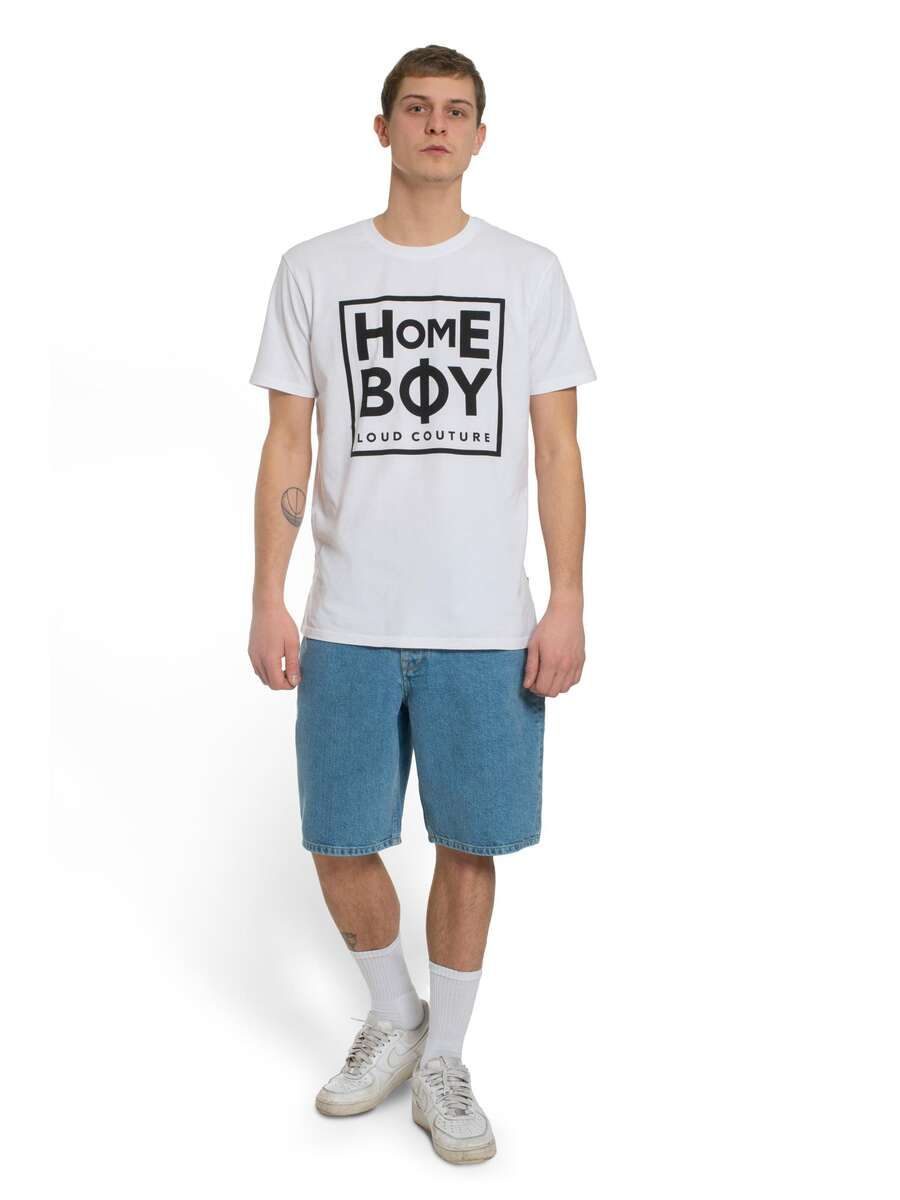 T-Shirt | TAKE YOU HOME TEE WHITE | XXL | HOMEBOY