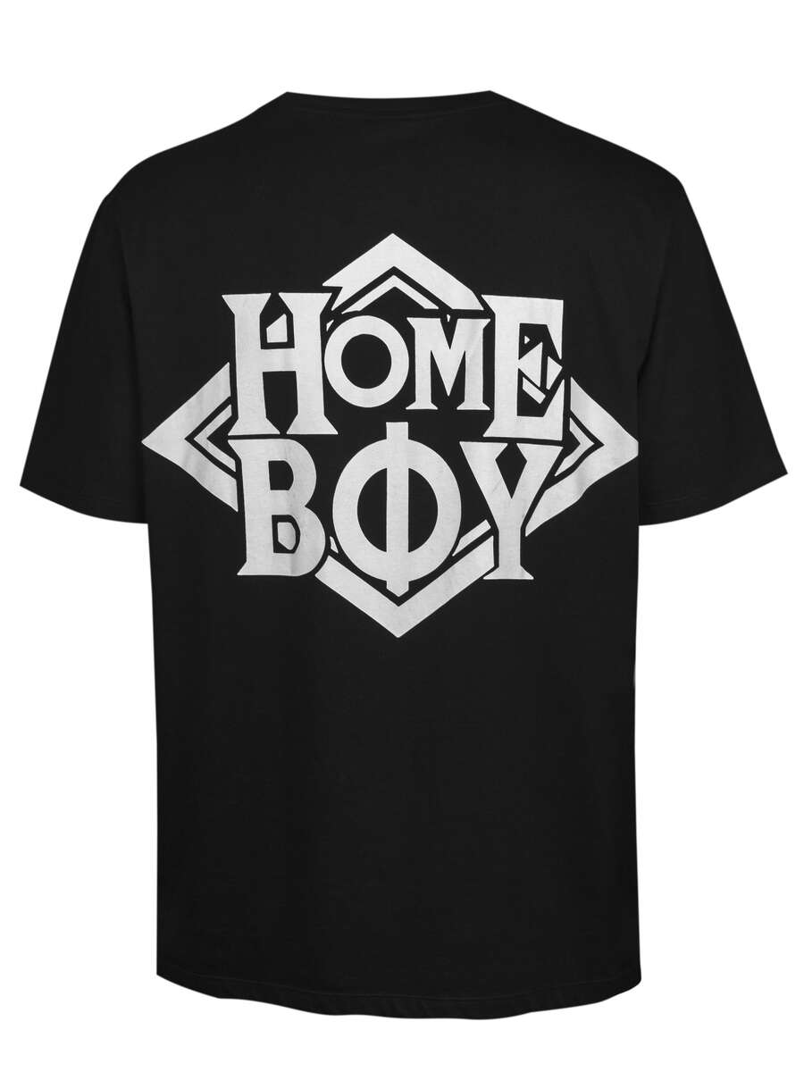 T-Shirt Oversize | THE BIGGER HOMIE TEE BLACK | M | HOMEBOY