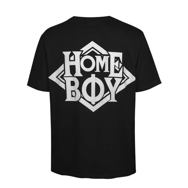 T-Shirt | THE BIGGER HOMIE TEE - Black - XL | HOMEBOY