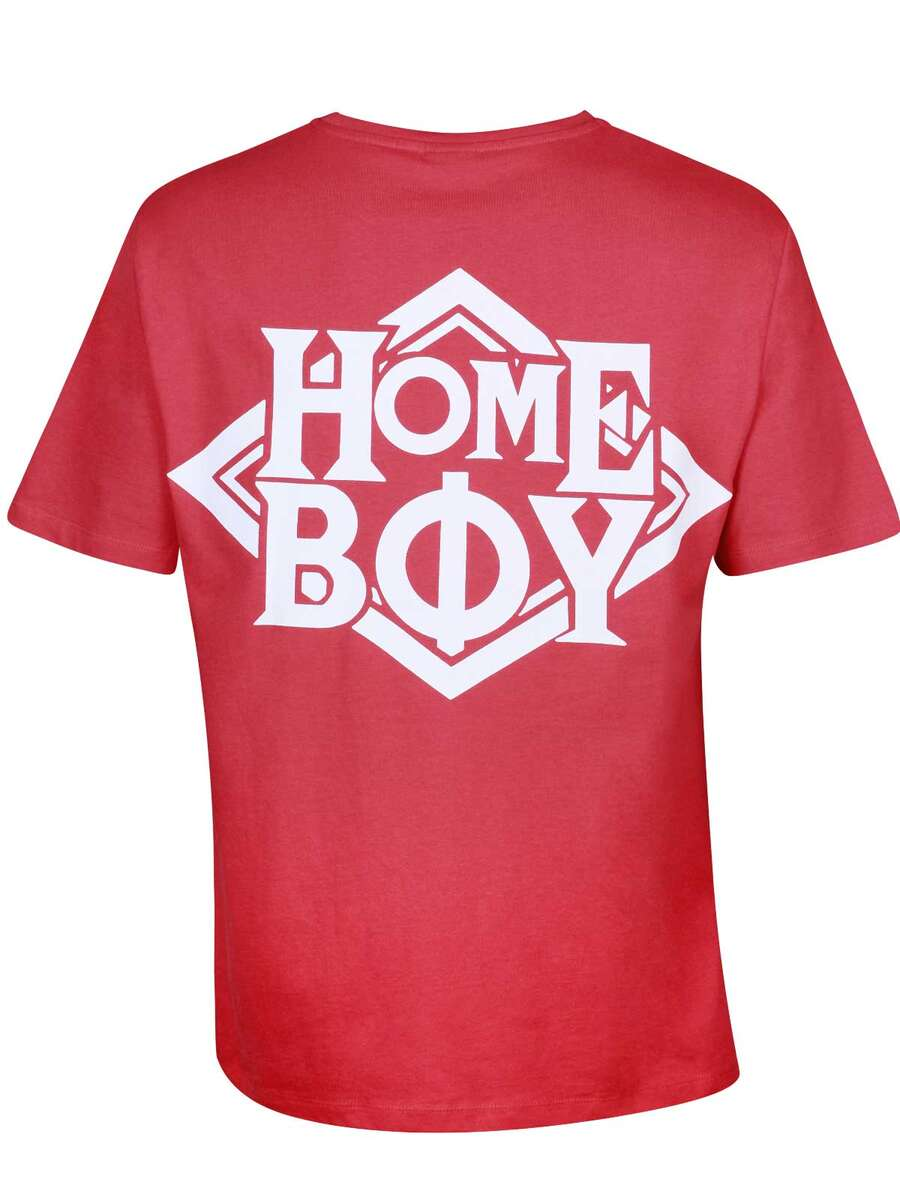 T-Shirt Oversize | THE BIGGER HOMIE TEE RED | M | HOMEBOY