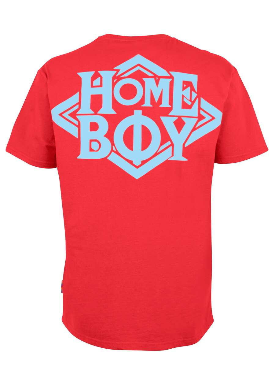 T-Shirt Oversize | THE BIGGER HOMIE TEE RED | XL | HOMEBOY