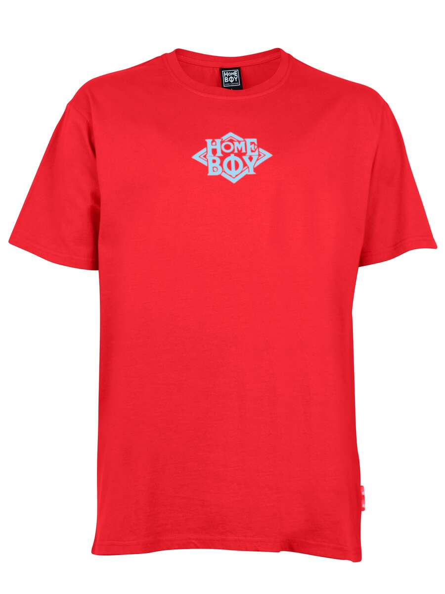 T-Shirt Oversize | THE BIGGER HOMIE TEE RED | XXL | HOMEBOY