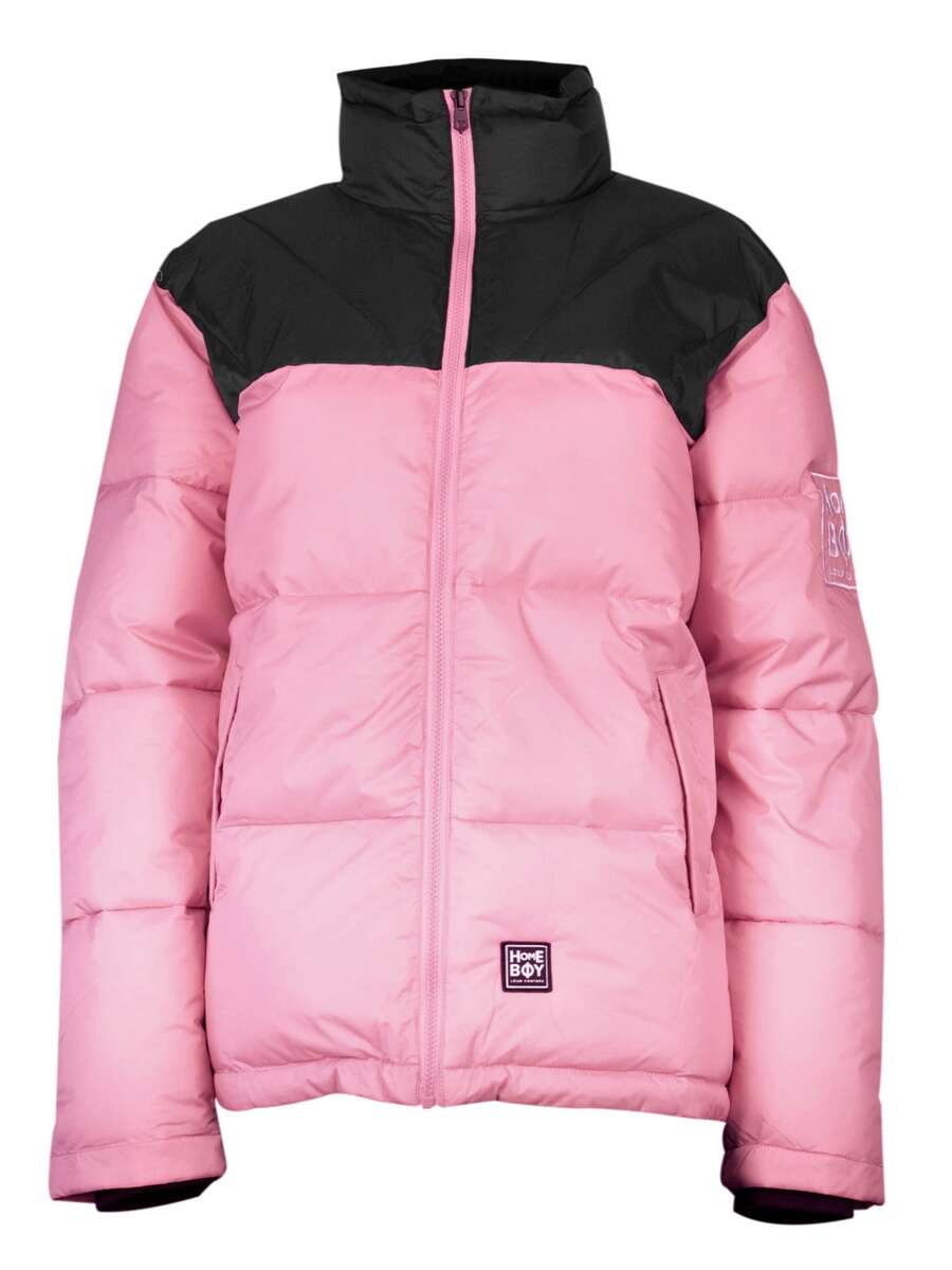 Jacke | SADDLE ARK JACKET - Rose - L | HOMEBOY