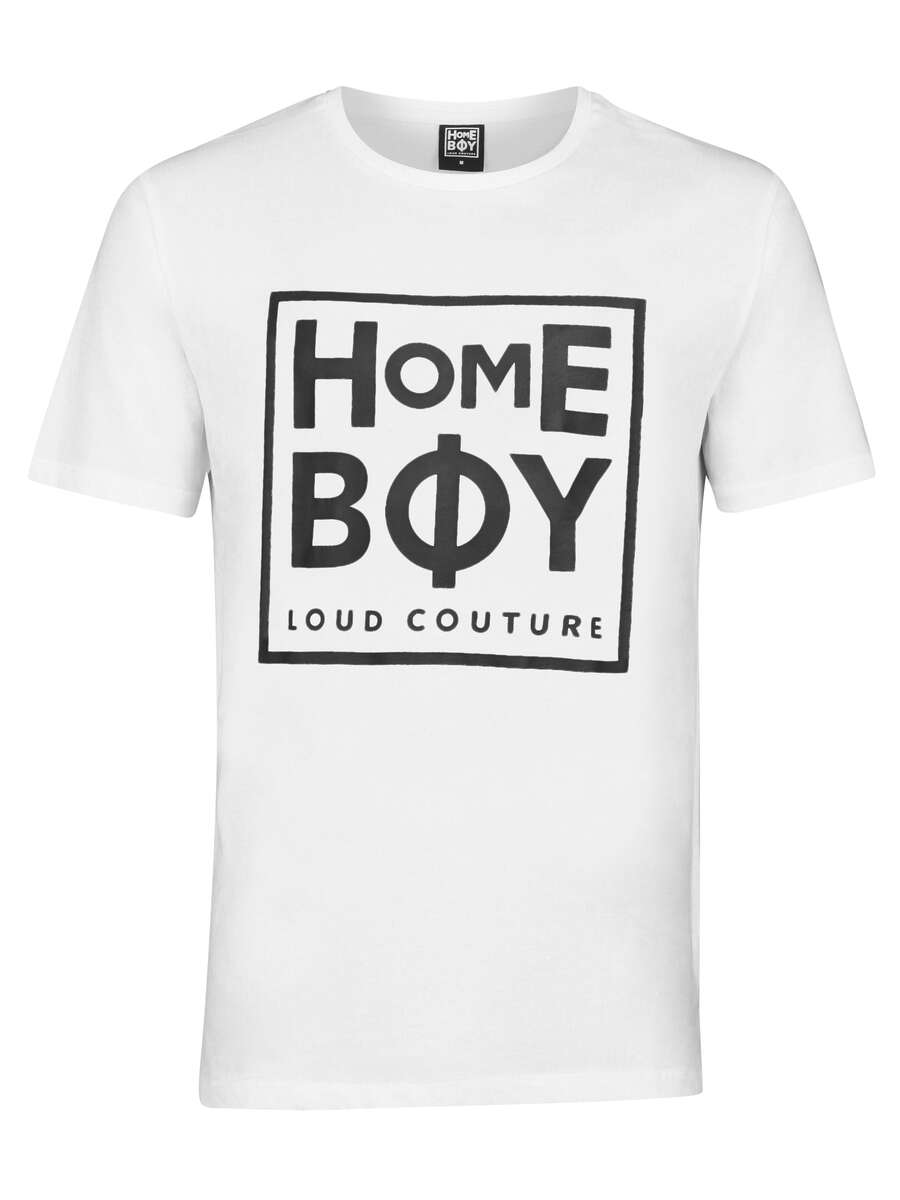 T-Shirt | TAKE YOU HOME TEE WHITE | L | HOMEBOY