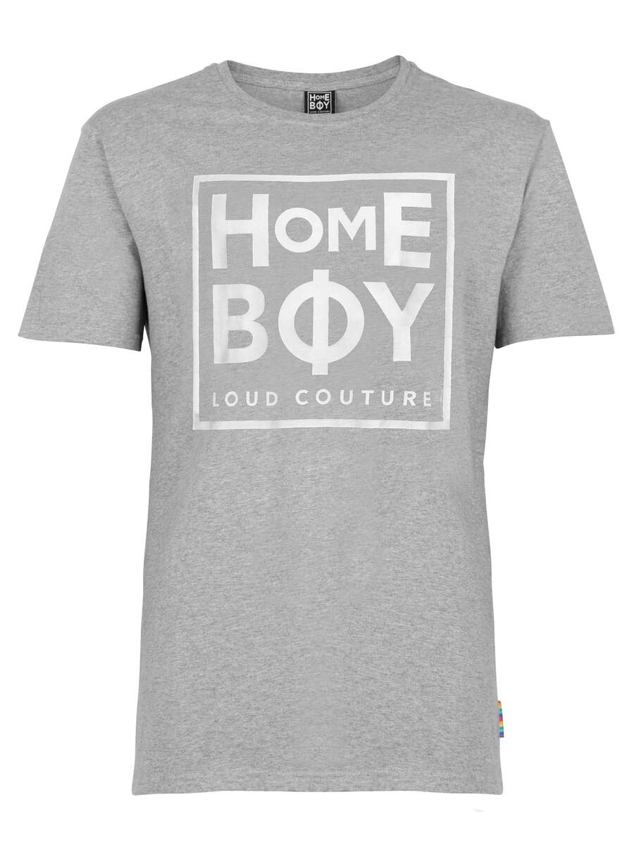 T-Shirt | TAKE YOU HOME TEE GREY HEATHER | L | HOMEBOY