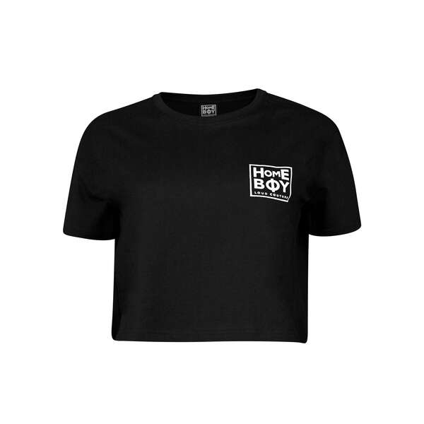 T-Shirt | CATE T-Shirt BLACK | S | HOMEBOY