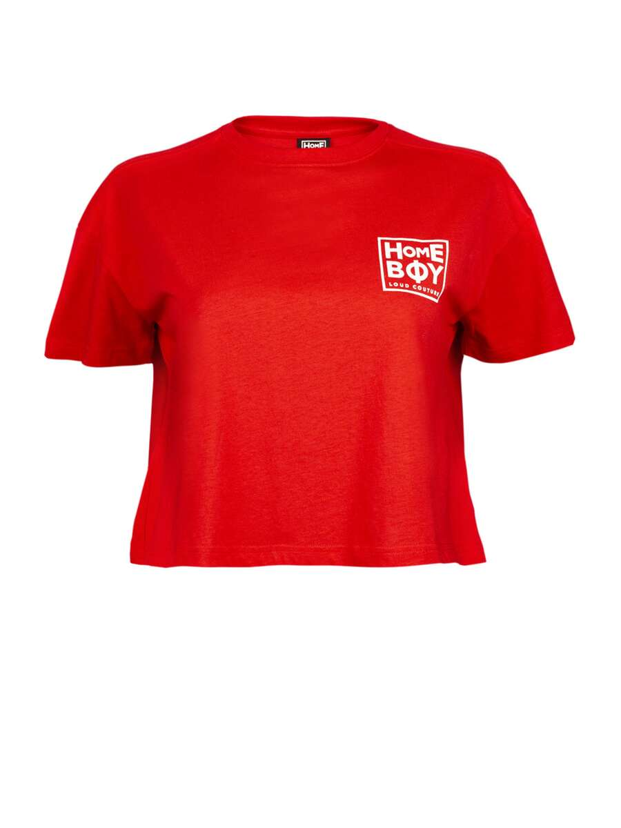 CATE T-Shirt - Cherry | M | HOMEBOY