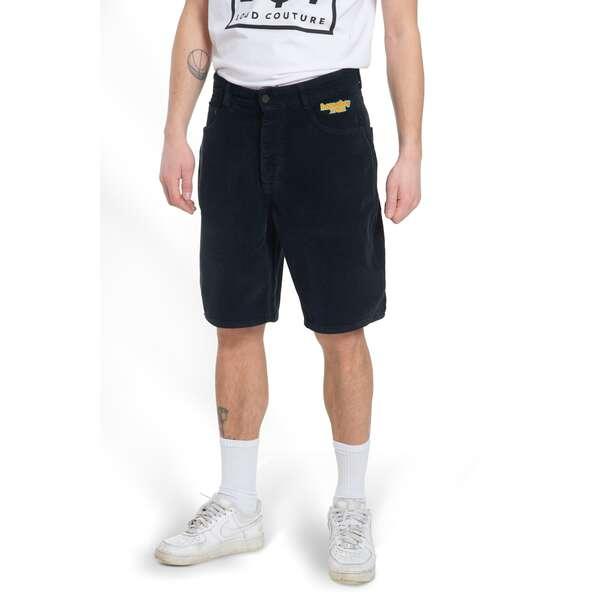 x-tra BAGGY CORD Shorts Black