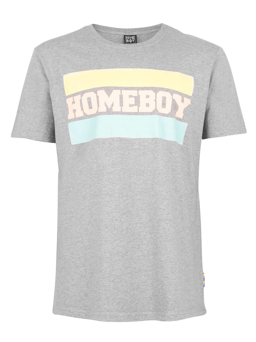 T-Shirt | TAKE YOU HOME TEE GREY HEATHER | M | HOMEBOY
