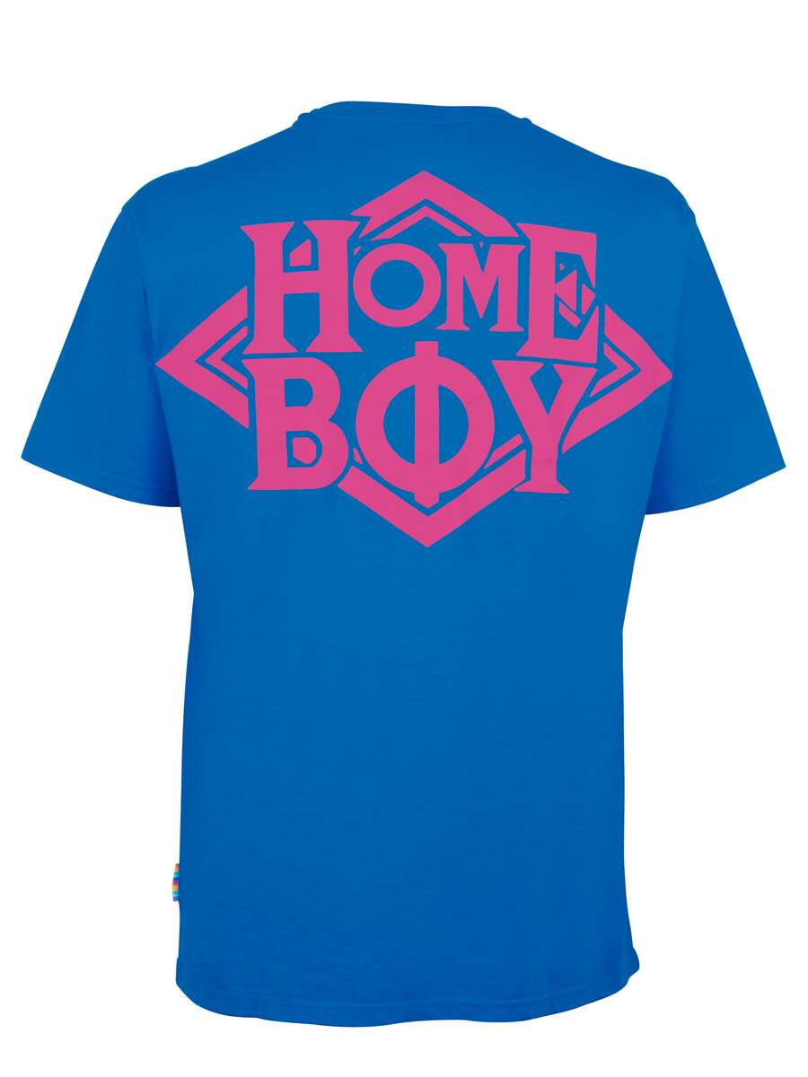 T-Shirt Oversize | THE BIGGER HOMIE TEE BLUE | S | HOMEBOY