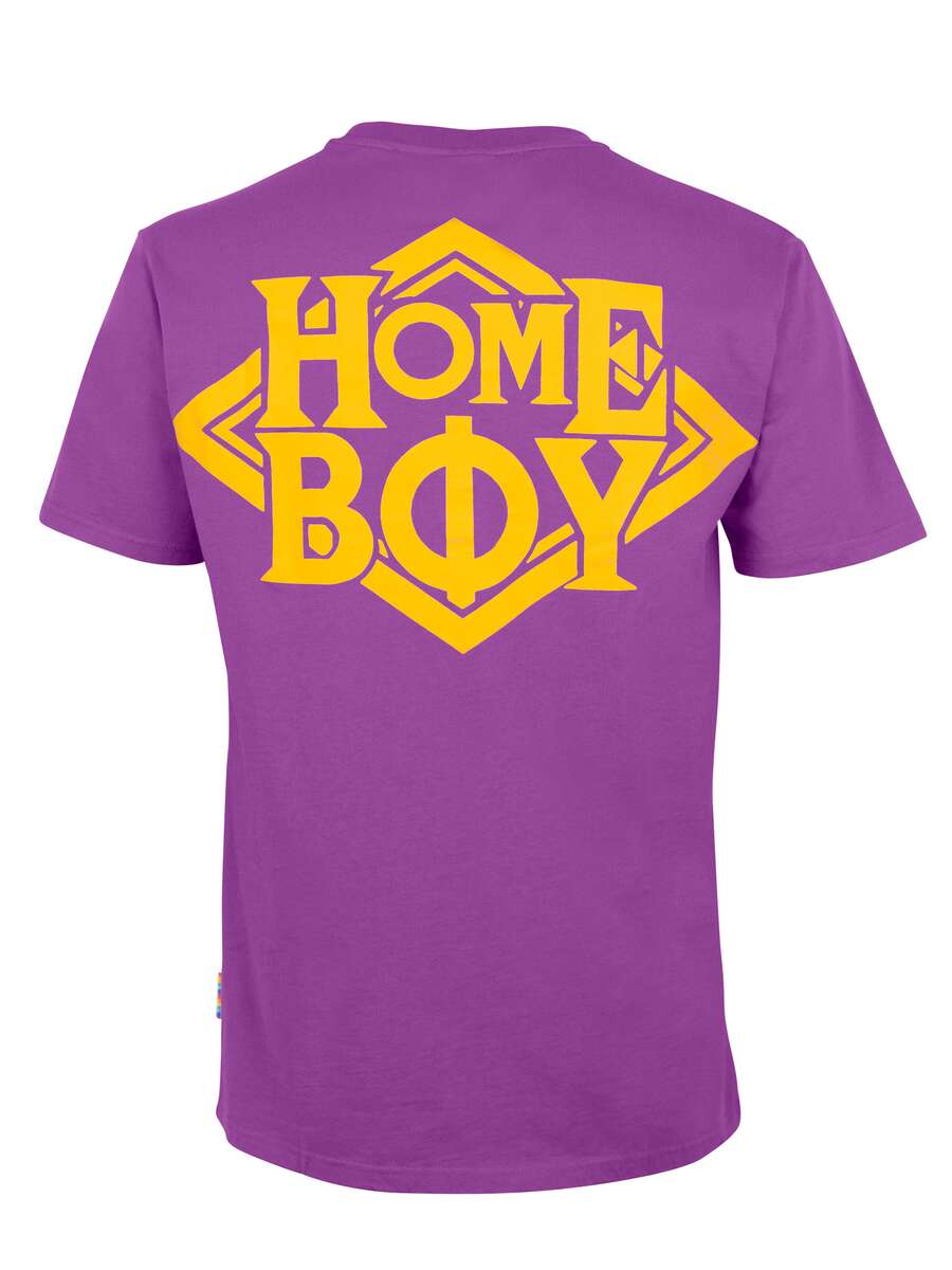 T-Shirt Oversize | THE BIGGER HOMIE TEE LILAC | XXL | HOMEBOY