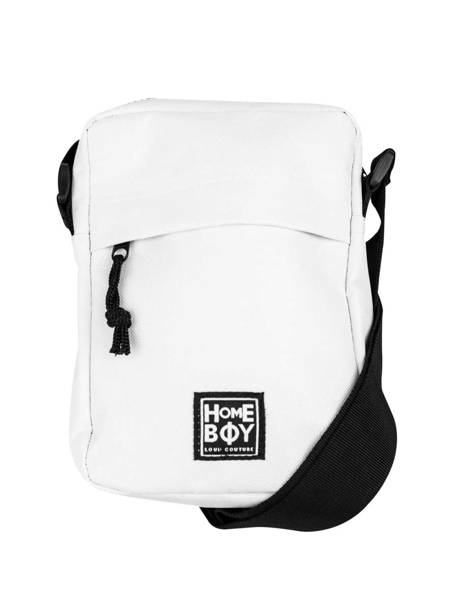 Schultertasche / Shoulder Bag | HUSTLER Shoulder Bag WHITE | HOMEBOY