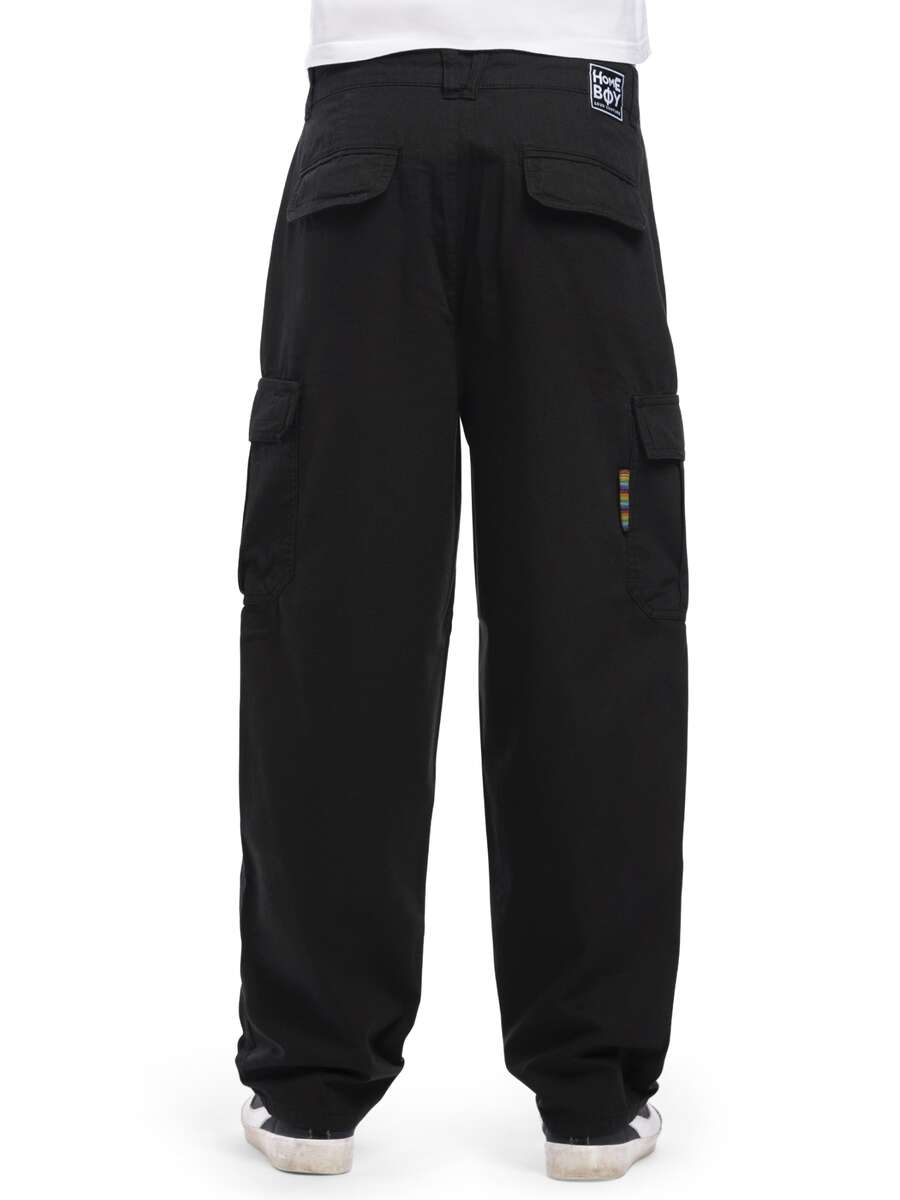 X-TRA CARGO PANT Black  | HOMEBOY