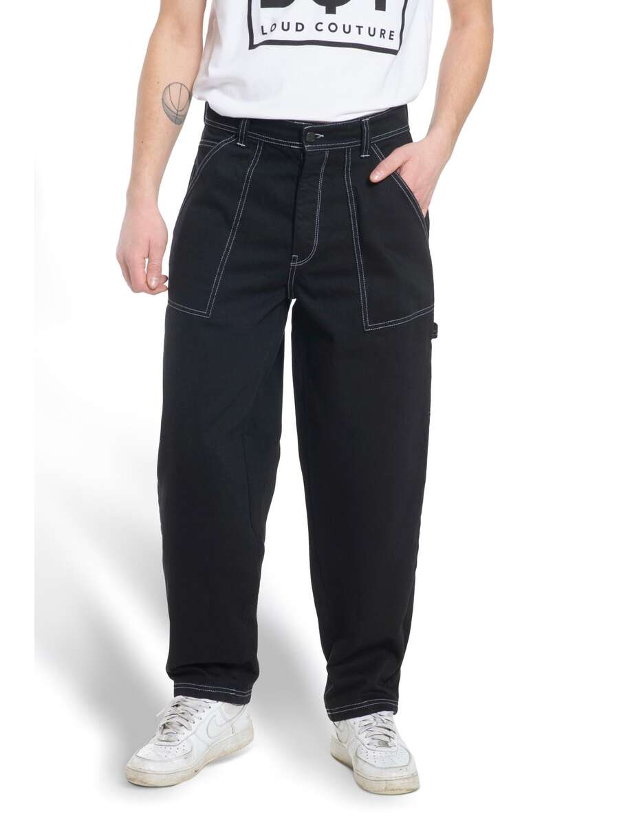 x-tra WORK PANTS Black