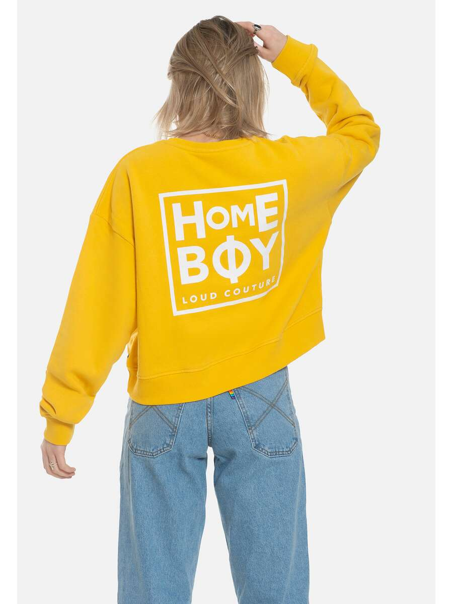 Pullover/Sweatshirt | HAILY Sweat Crew Neck Gold | S | HOMEBOY