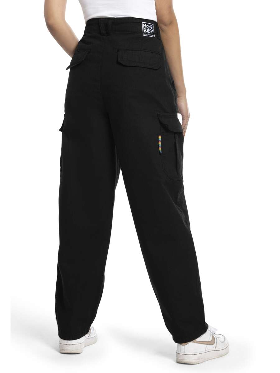 x-tra CARGO PANT Black | 28 L30 | HOMEBOY