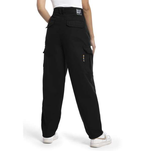 Baggy CARGO Pant-Black