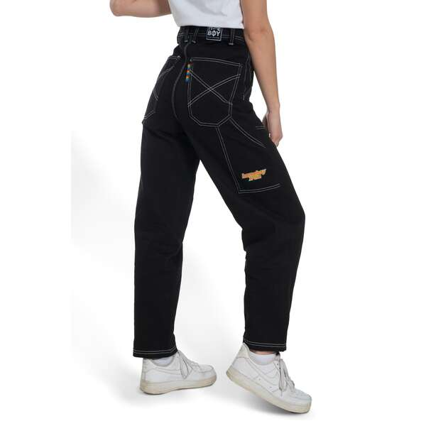 x-tra Baggy WORK PANT-Black