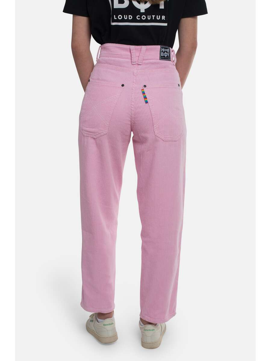 x-tra Baggy CORD Pant-Rose