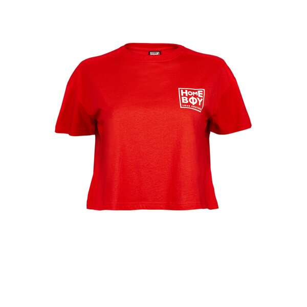 CATE T-Shirt Cherry | HOMEBOY