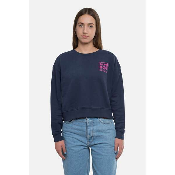 Pullover/Sweatshirt | HAILY Sweat Crew Neck Navy | HOMEBOY