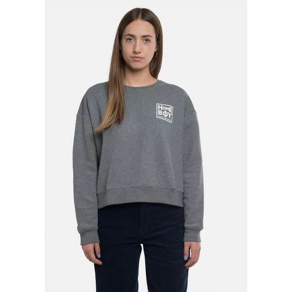 Pullover/Sweatshirt | HAILY Sweat Crew Neck Grey Heather...
