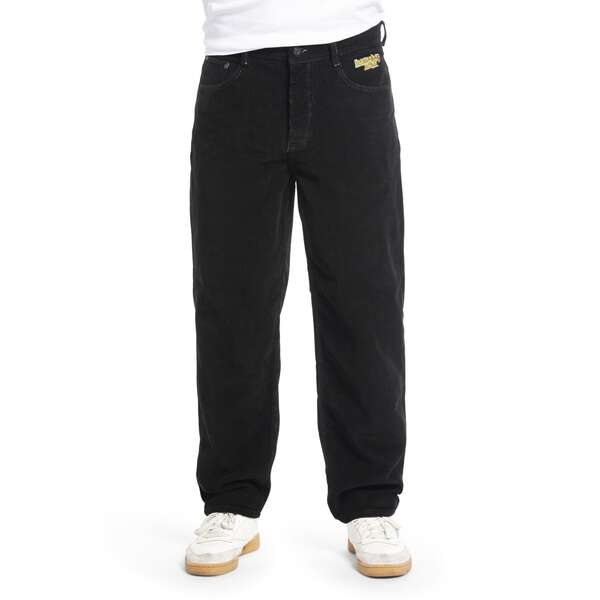 Baggy Pant | X-TRA BAGGY Cord Black | HOMEBOY