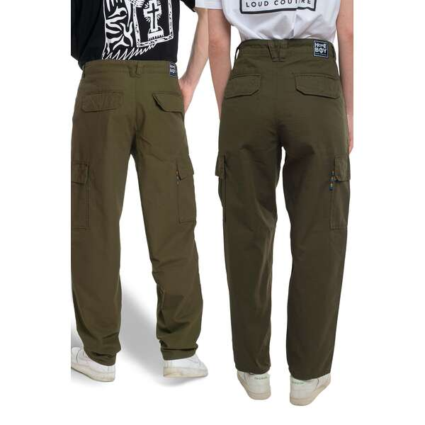 Baggy Pant | X-TRA CARGO PANT Olive | HOMEBOY