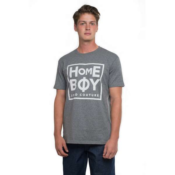 TAKE YOU HOME TEE | HOMEBOY-Grey-Heather