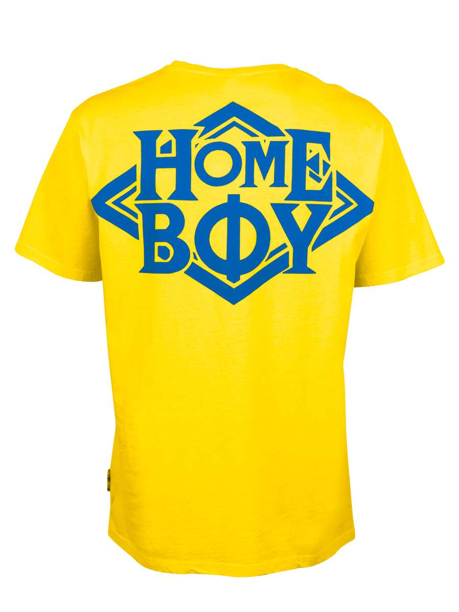 T-Shirt Oversize | THE BIGGER HOMIE TEE | HOMEBOY-Yellow
