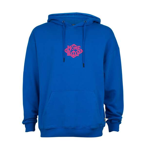 Pullover/Sweatshirt Oversize | THE BIGGER HOMIE Hood Blue...