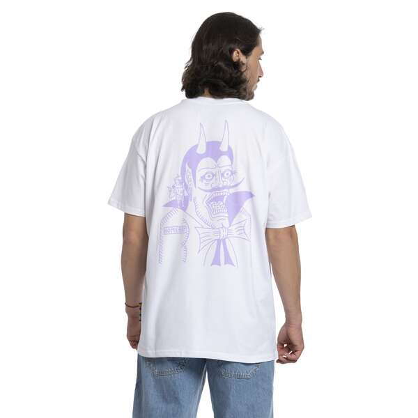 Devil - THE BIGGER HOMIE Tee White