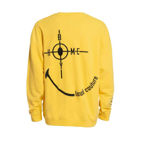 Target - THE BIGGER HOMIE Crew Yellow - Smiley Collaboration