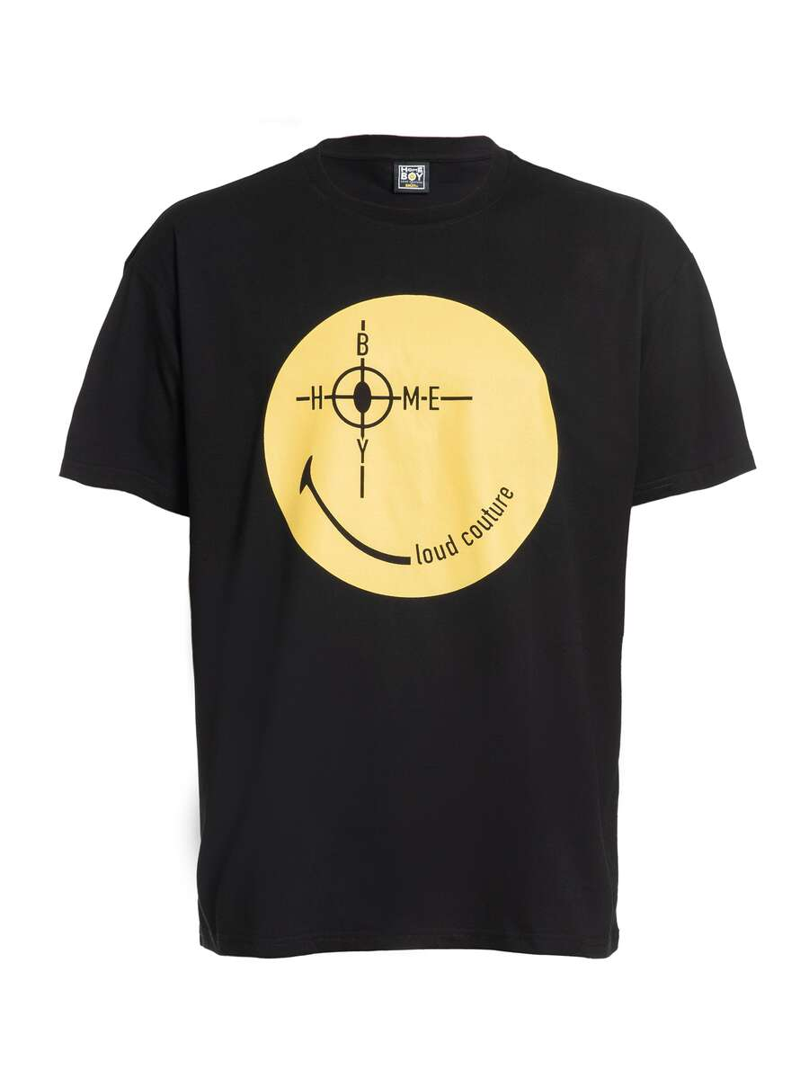 Target | THE BIGGER HOMIE Tee Black | XS | Smiley Collaboration