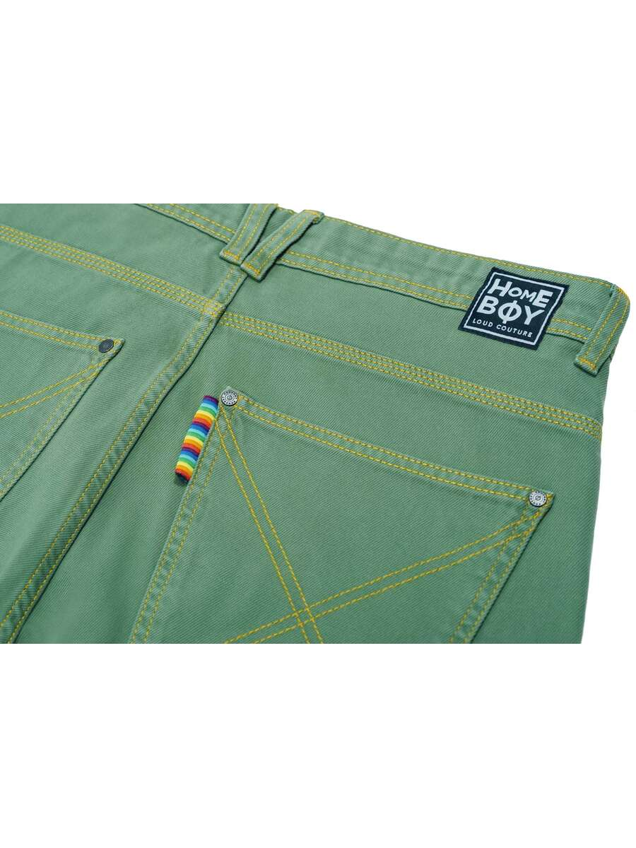 x-tra BAGGY Twill Olive
