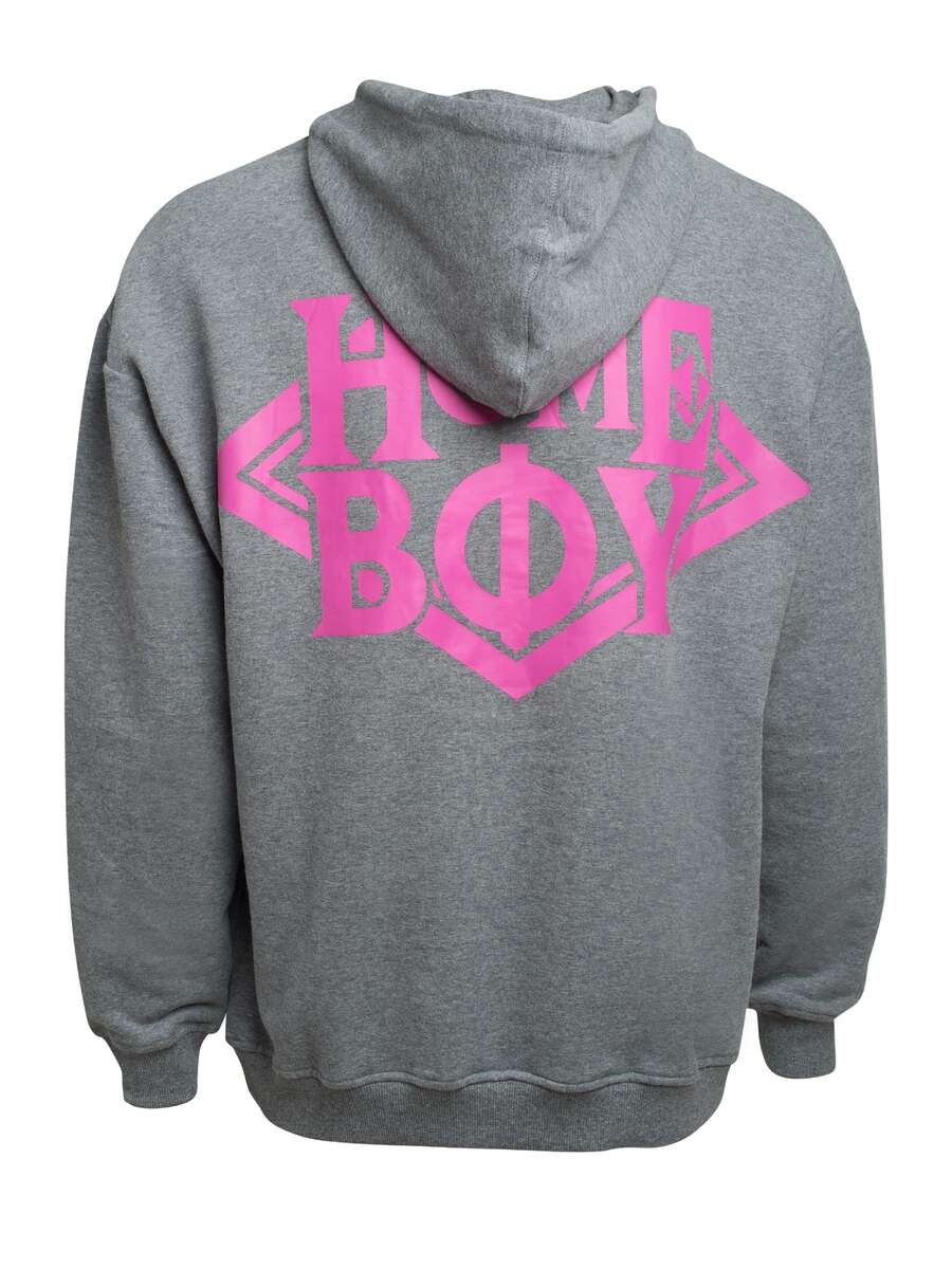 Kapuzenpullover/Hoodie | THE BIGGER HOMIE Hood Grey Heather L | HOMEBOY